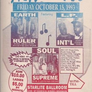 Earth Ruler vs LP Intl 1993