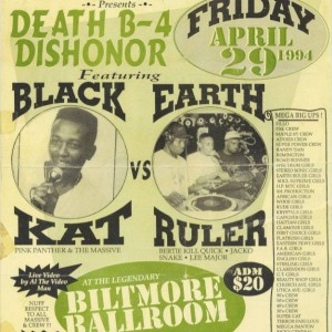Black Kat vs Earth Ruler 1994