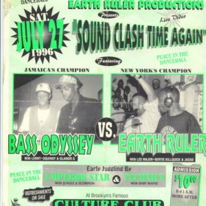 Bass Odessy vs Earth Ruler 1996