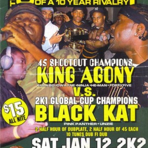 King Agone vs Black kat 2002