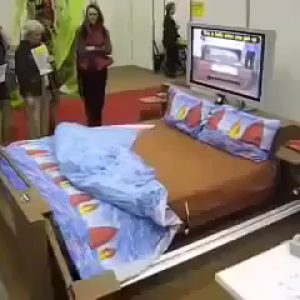 Bed That Spreads Itself