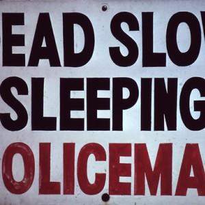 Dead Slow Police