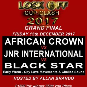 Lock Off Cup Clash Final - African Crown vs JNR International vs Black Star 15/12/20 17