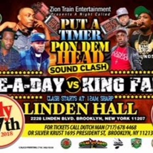 One A Day Vs King Fargo 7-7-18 - Linden Hall Brooklyn, NY