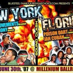 Jah Cuban vs Tek 9 vs Poison Dart vs King Agony 2007