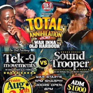 TEK-9 VS SOUNDTROOPER 08-25-2018