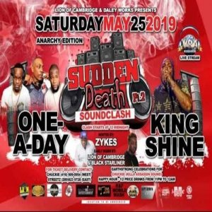 King Shine vs One A Day 5/19 (Sudden Death Pt II)CA